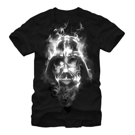 Star Wars Men's Darth Vader Smoke T-Shirt (Personalized Star Wars)