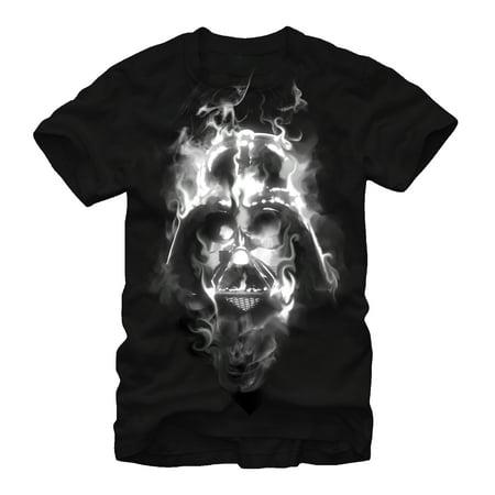 Darth Vader Shirt With Cape (Star Wars Men's Darth Vader Smoke)
