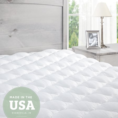 Eluxurysupply Extra Plush Mattress Pad Topper With Ed Skirt Found In Marriott Hotels