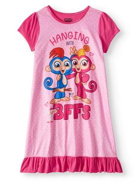 126570ee Product Image Girls' Fingerlings Pajama Nightgown