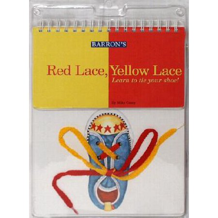 Red Lace, Yellow Lace : Learn to Tie Your Shoe! - Yellow Represents