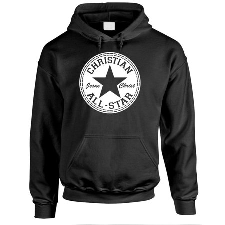 CHRISTIAN ALL STAR - jesus christ lord god - Fleece PULLOVER Hoodie All Star Pullover