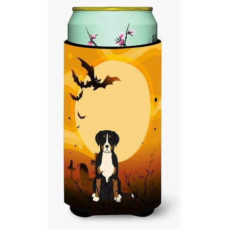 Halloween Greater Swiss Mountain Dog Tall Boy Beverage Insulator Hugger BB4303TBC](Halloween Names For Boy Dogs)