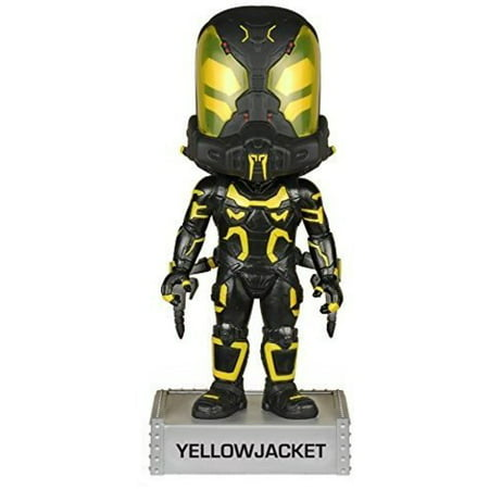 FUNKO WACKY WOBBLER: MARVEL - YELLOWJACKET BOBBLE HEAD