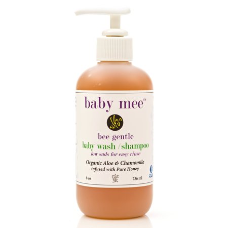 Baby Wash Kids Shampoo - Organic Aloe, Chamomile & Natural Honey For Soothing Eczema, Cradle Cap, and Dry, Itchy, Sensitive Skin & Scalp - Tear Free - for Babies, Toddlers & Big Kids 8