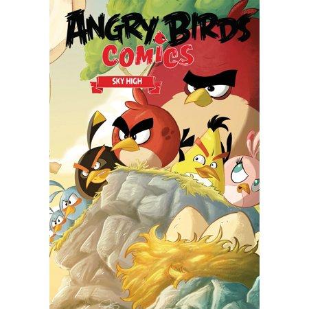 Angry Birds Comics Volume 3: Sky High - Angry Birds Halloween Comic Book