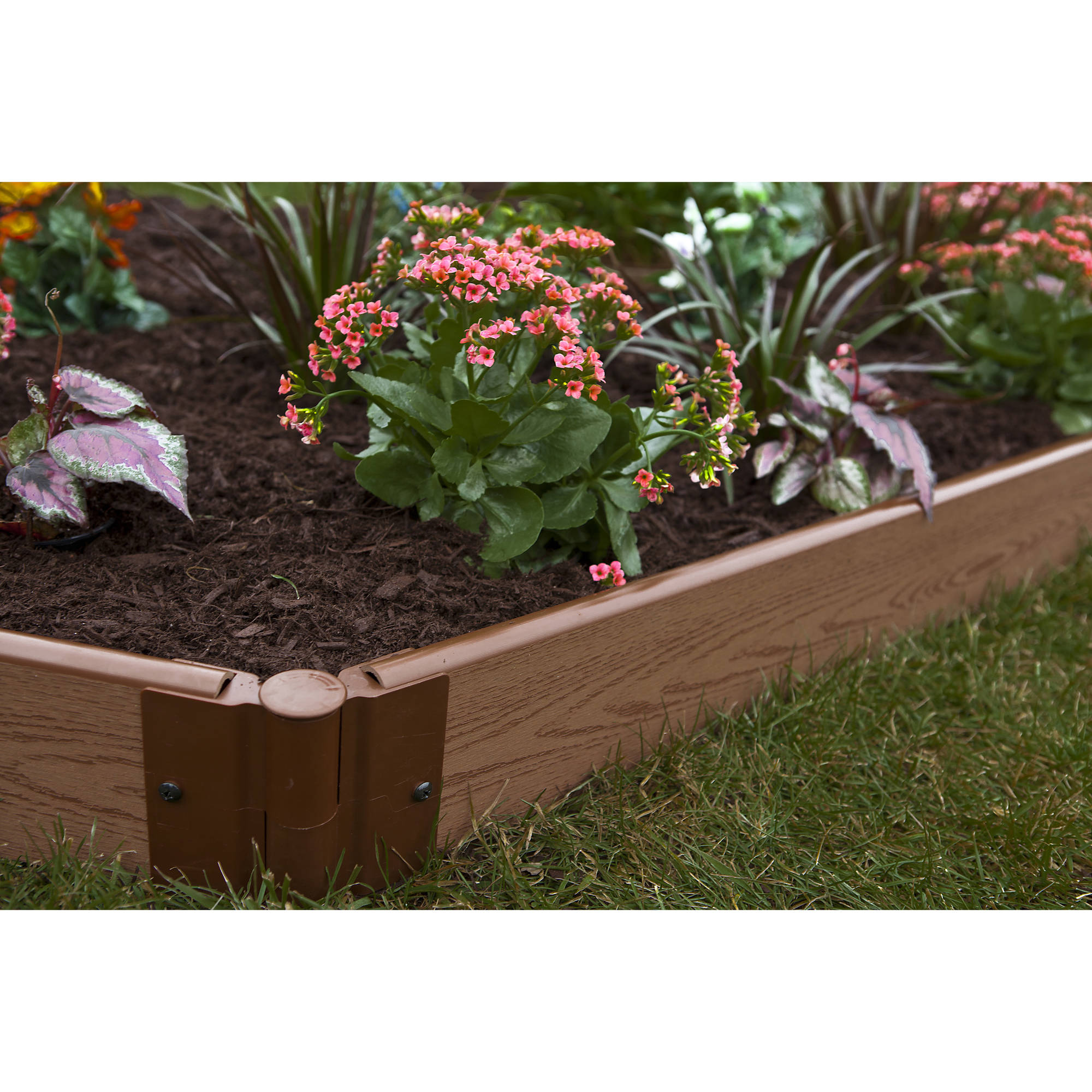 Frame It All One Inch Series 64ft. x 5.5in. Composite Landscape Edging Kit