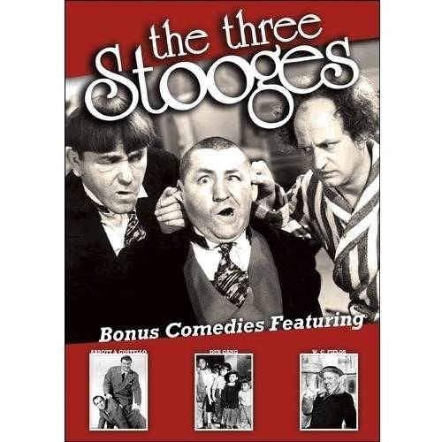 The Three Stooges (With Bonus Comedies Featuring Abbot & Costello   Our Gang   W.C. Fields) by PLATINUM DISC CORPORATION