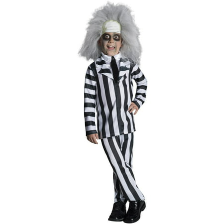 Beetlejuice Deluxe Costume for Kids (Halloween Costume Beetlejuice)
