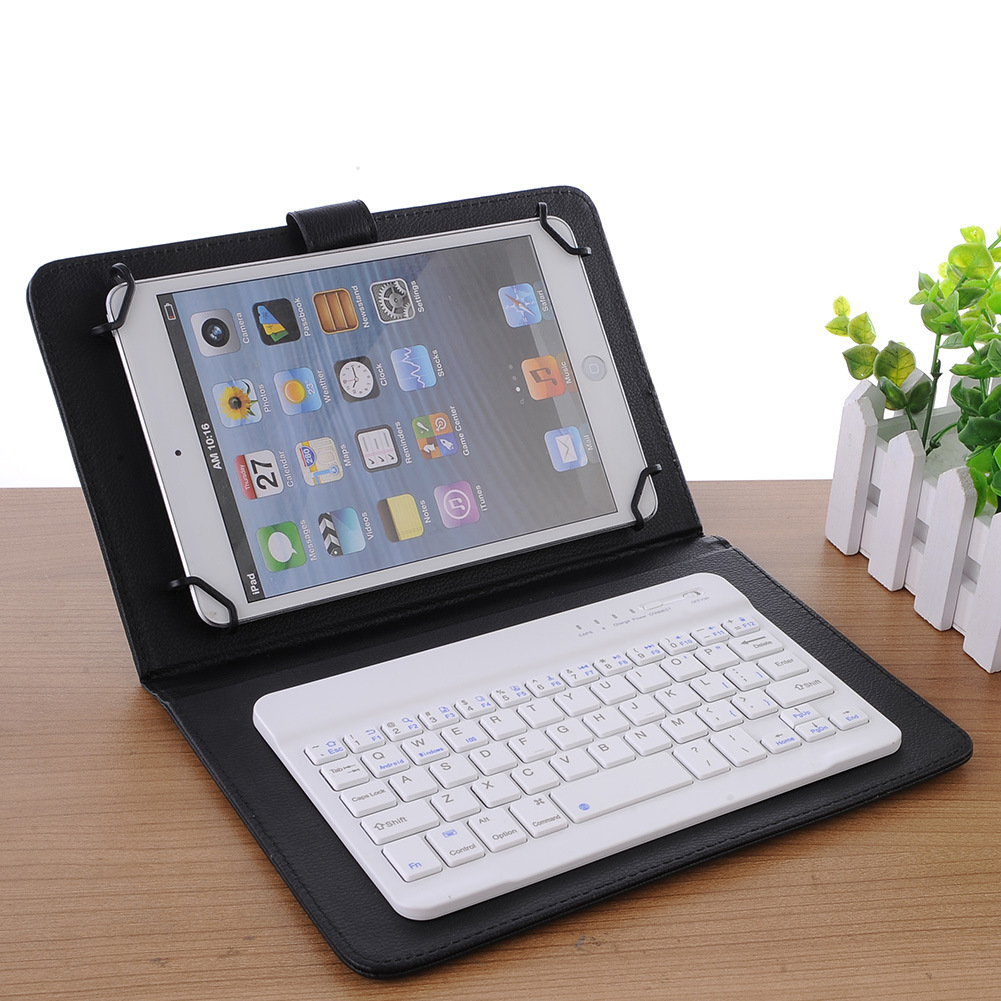 """Portable 7.0"""" Slim Wireless Bluetooth 3.0 Keyboard for iOS, Android and Windows Tablets"""