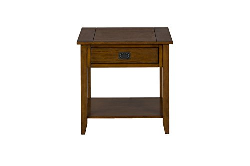 Jofran 1032-3 End Table, Mission Oak by Jofran