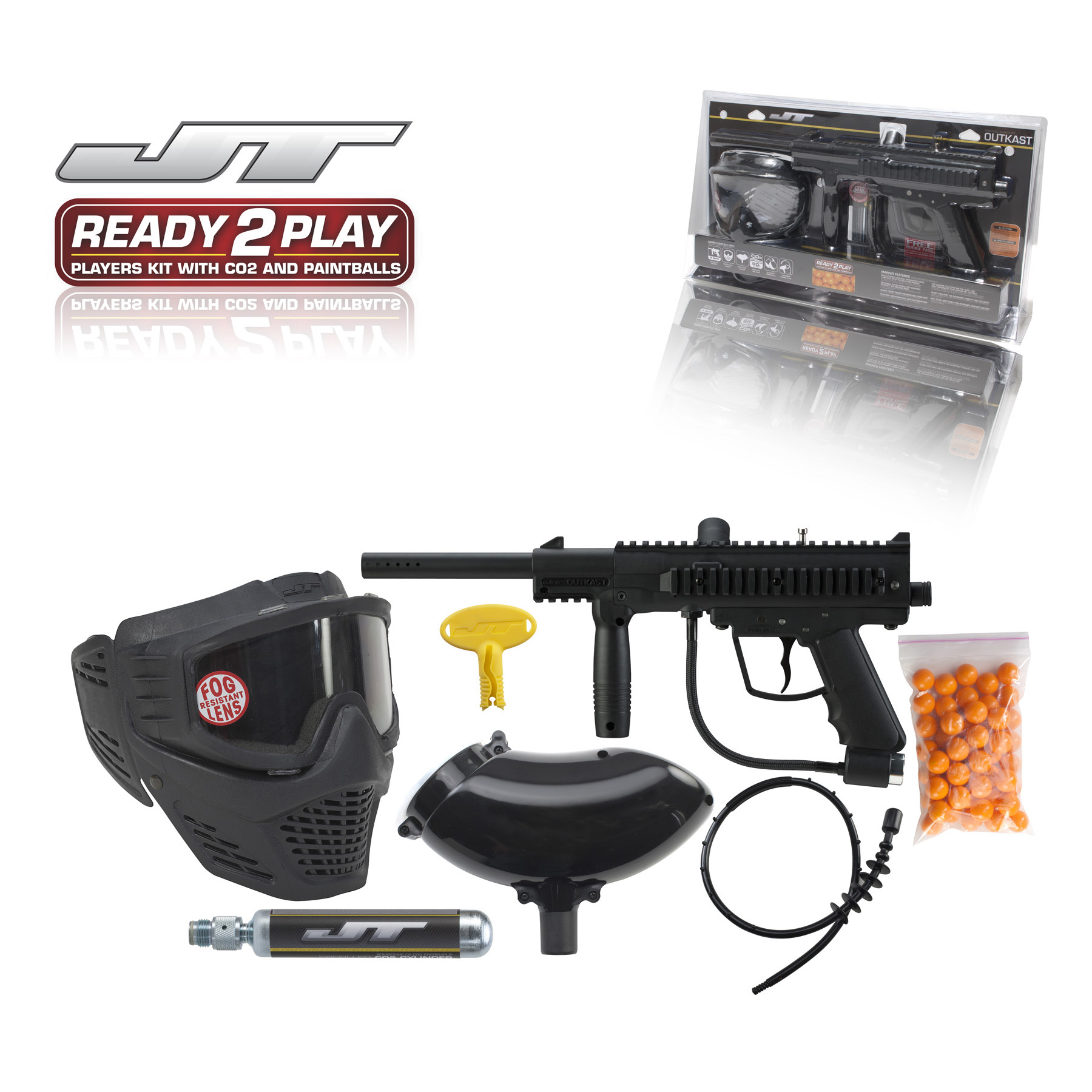 """JT Paintball """"Outkast"""" Gun Ready To Play Kit"""
