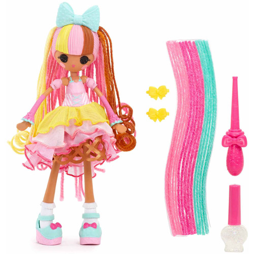 Lalaloopsy Girls Crazy Hair Doll, Scoops Waffle Cone