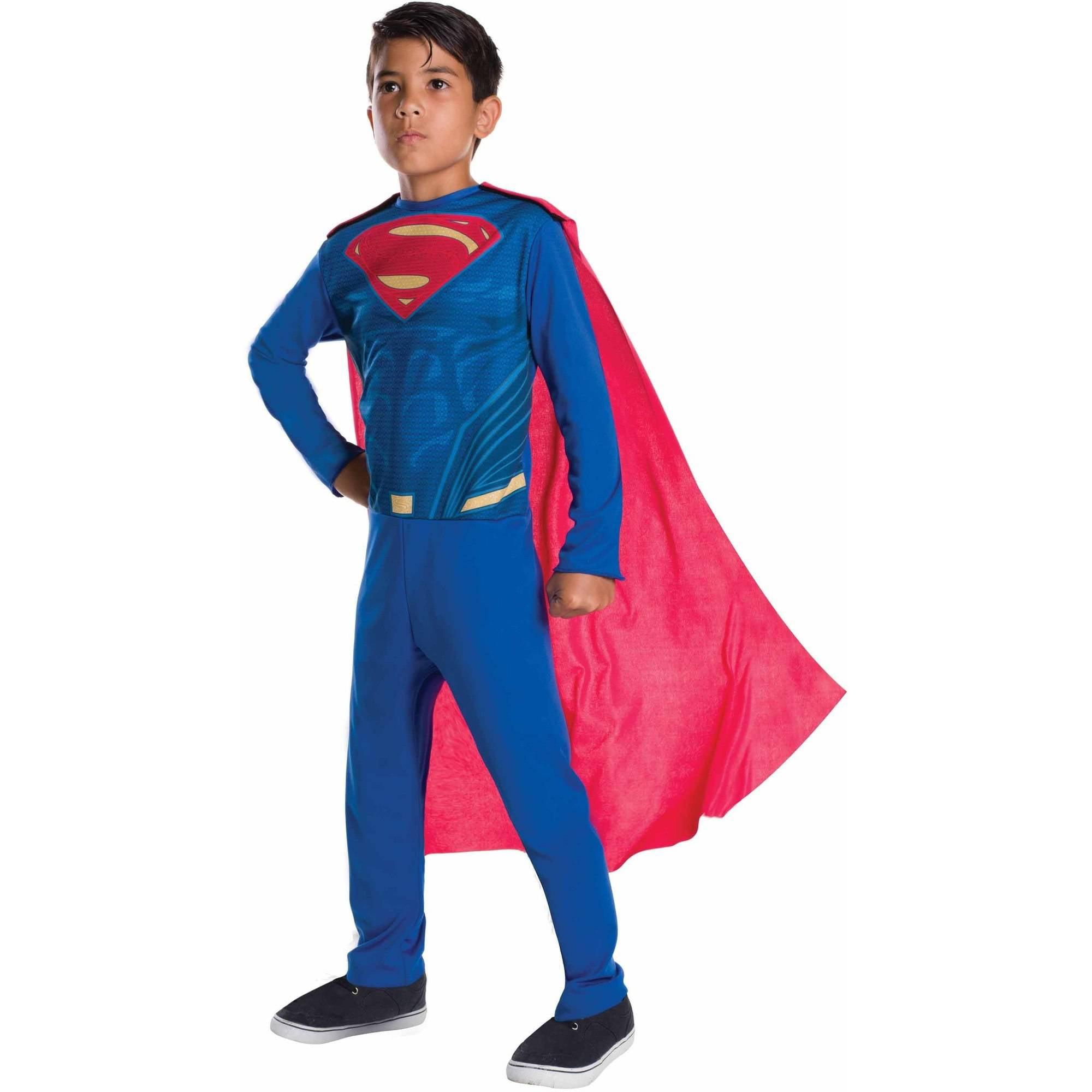 Justice League Superman Child's Costume, Large (10-12)