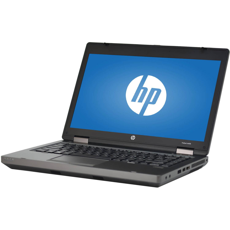 "Refurbished HP Black 14"" 6460B Laptop PC with Intel Core i5-2520M Processor, 4GB Memory, 320GB Hard Drive and Windows 7 Professional"