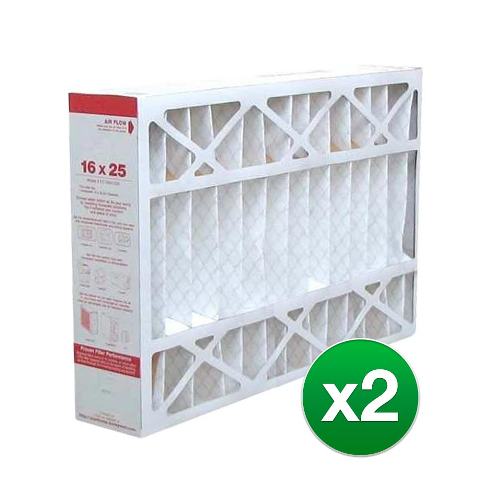 6 Pack High Quality Genuine MERV 11 Home Pleated Air Furnace Filter 16x25x4