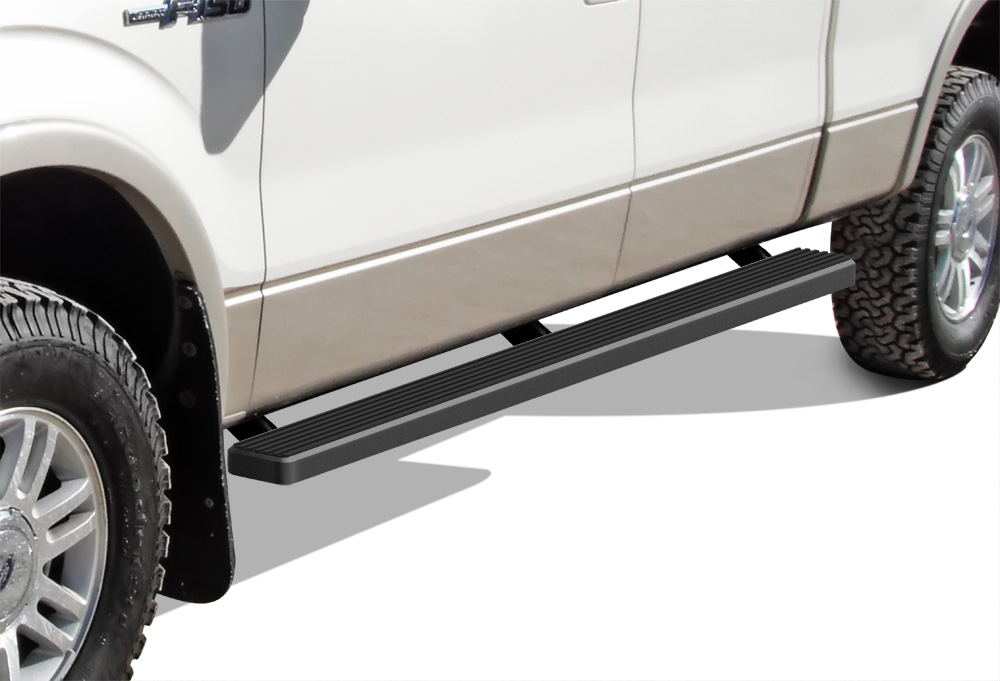 Matte Black  Iboard Running Boards Fit   Ford F
