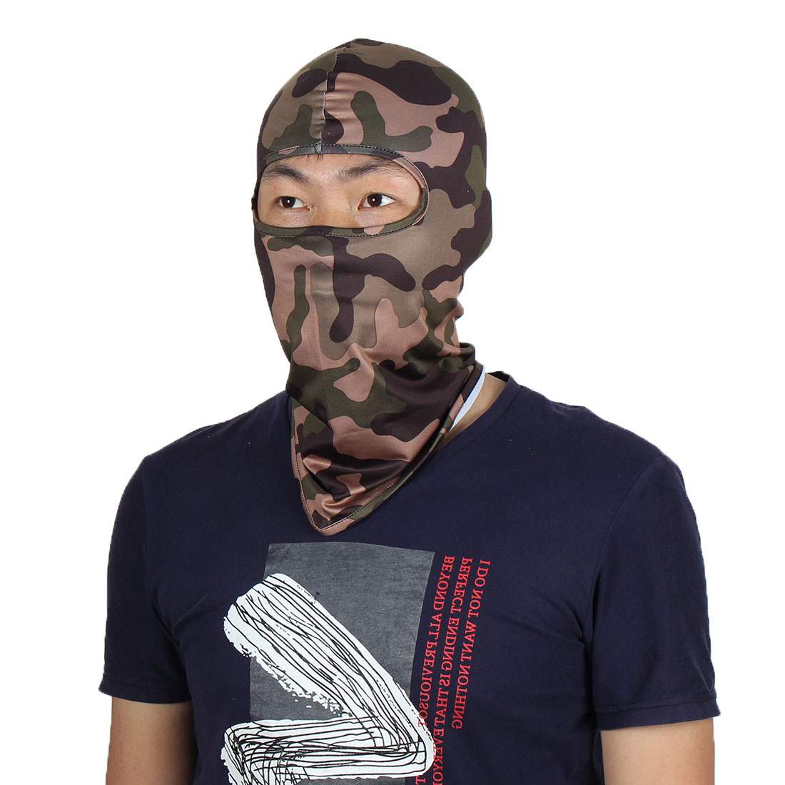 Full Coverage Face Mask Activities Neck Protector Hood Beanie Helmet Balaclava by Unique-Bargains