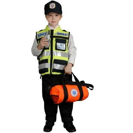 Dress Up America 481-T4 Child EMT - Toddler T4](Kids Dress Up)