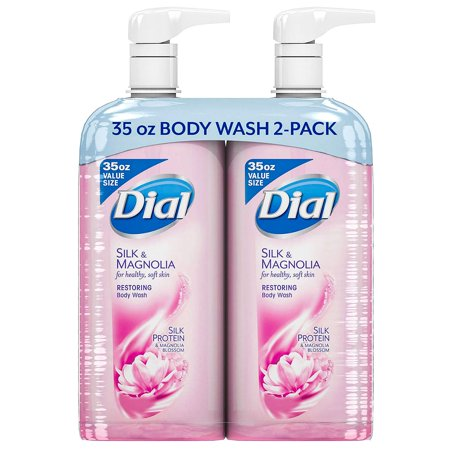 Dial Restoring Body Wash, Silk & Magnolia (35 fl.