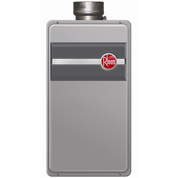 Rheem RTG-84DVLN-1 Direct Vent Natural Gas Tankless Water Heater for 2 - 3 Bathroom Homes
