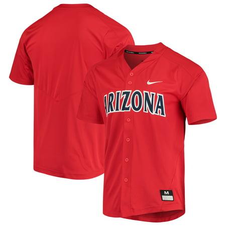 Arizona Wildcats Nike Vapor Untouchable Elite Full-Button Replica Baseball Jersey -