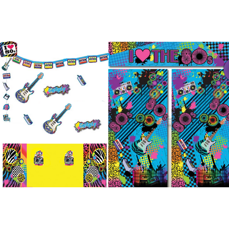 I love the 80's Party Decoration Set - Iparty Application