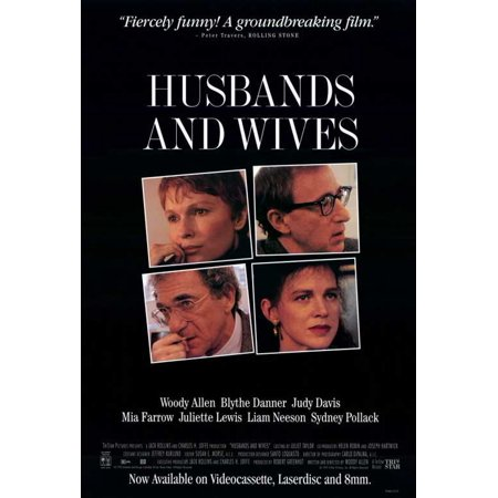 Husbands and Wives POSTER Movie B Mini Promo