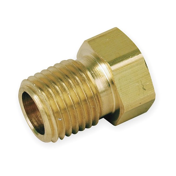 Reducing Bushing, Brass, 1/2 In. x 3/8 In.