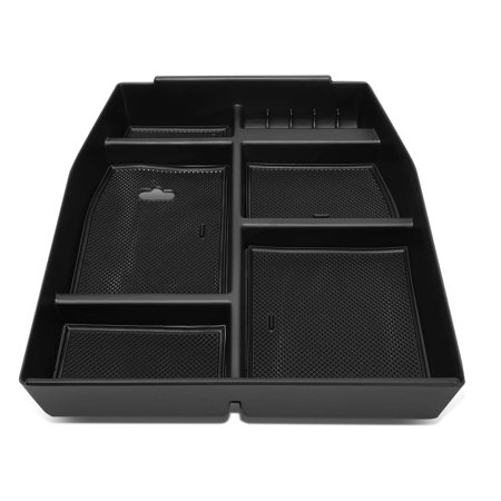 For 2015 To 2018 Ford F150 Center Console Storage Box Armrest Organizer Tray