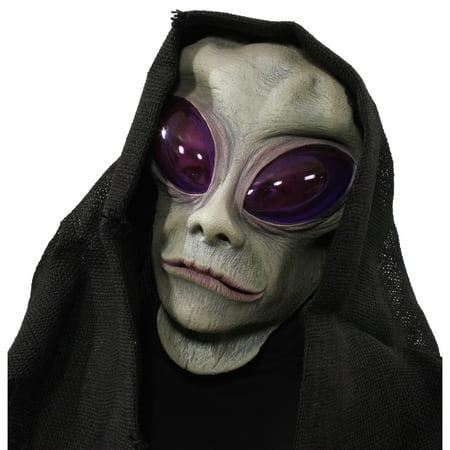 Classic Alien Overhead Mask w/ Hood](Cheap Alien Mask)