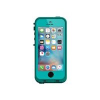 LifeProof Fre - Protective case for cell phone - teal, dark teal - for Apple iPhone 5, 5s, SE