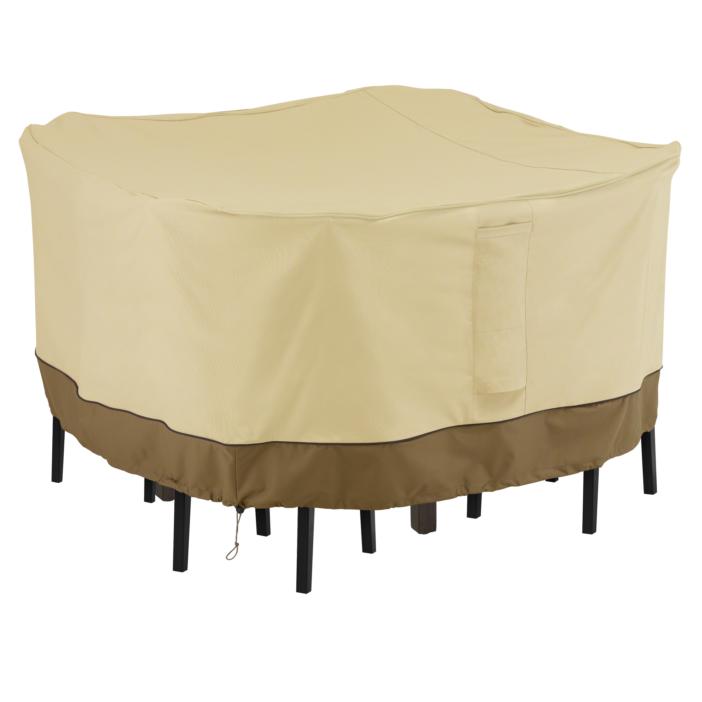 Classic Accessories Veranda™ Square Bar Table \u0026 Chair Set Cover - Durable and Water Resistant  sc 1 st  Walmart & Classic Accessories Veranda™ Square Bar Table \u0026 Chair Set Cover ...