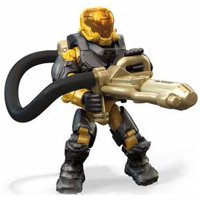 Halo 10th Anniversary Series Yellow Flame Marine Minifigure [No Packaging]