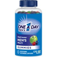 One A Day Men's VitaCraves Multivitamin Gummies, Supplement with Vitamins A, C, E, B6, B12, and Vitamin D, 170 ct.