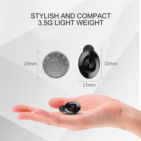 Wireless Bluetooth Stereo Headphone. Bluetooth V5.0 Earbud. Waterproof Sports Headset (Single+USB charging) - image 3 de 13