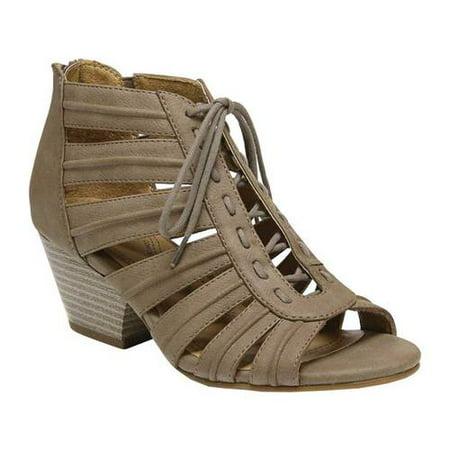Women's SOUL Naturalizer Dante Gladiator Sandal (Natural Soul By Naturalizer Womens Grandeur Huarache)