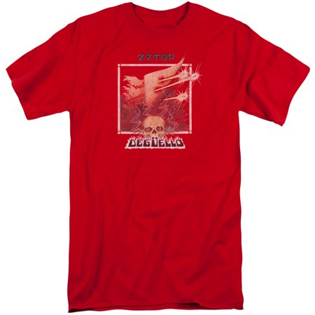 Zz Top Deguello Cover Mens Adult Big And Tall Shirt