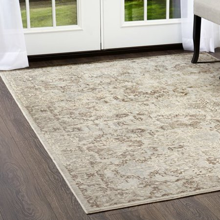 Shabby Chic Cream Area Rug