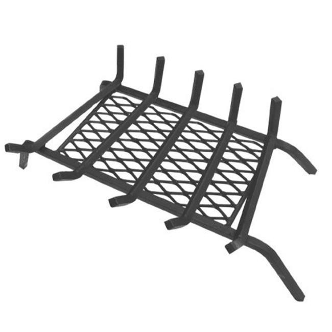 5 in. Steel Grate 27 in. with Ember Retainer 5 bars