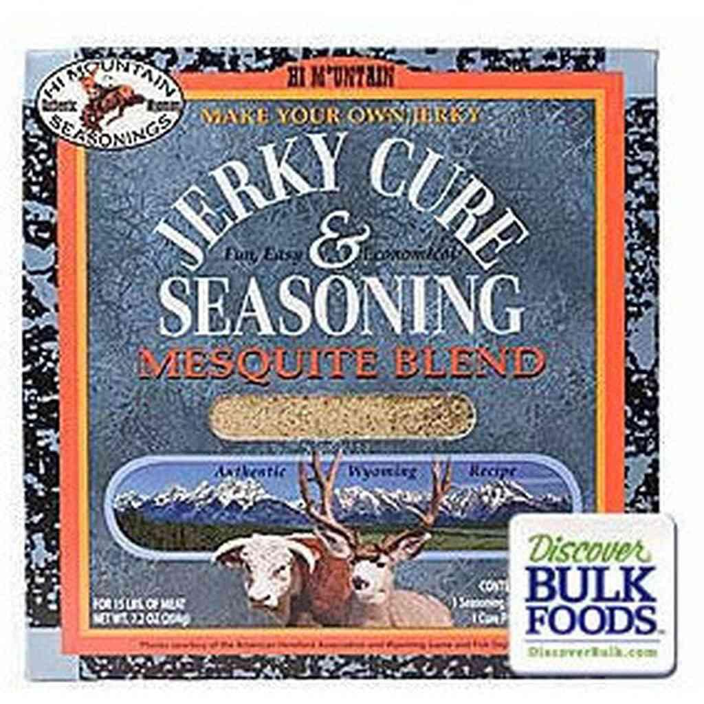 Hi Mountain Seasonings Mesquite Blend Jerky Cure & Seasoning Kit, 7.2 oz