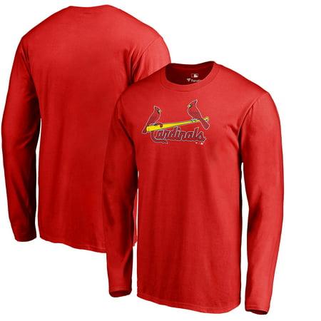 St. Louis Cardinals Fanatics Branded Team Wordmark Long Sleeve T-Shirt - Red