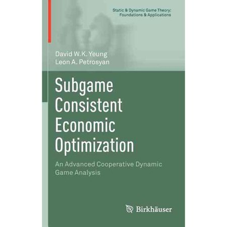 Subgame Consistent Economic Optimization  An Advanced Cooperative Dynamic Game Analysis