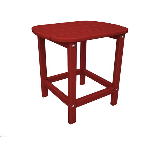 POLYWOOD® South Beach Recycled Plastic 18 in. Side Table
