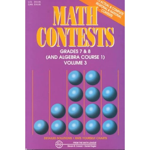 Math Contests - Grades Seventh and Eighth: School Years : 1991-92 Through 1995-96