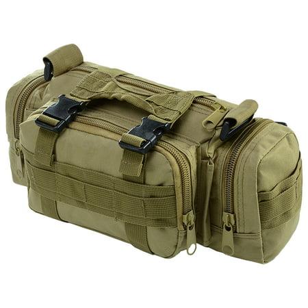 Multi-functional Waist Pack Bike Front Handle Bag Fishing Tackle Sling Bag Photography Training Utility Shoulder Backpack - image 1 de 7