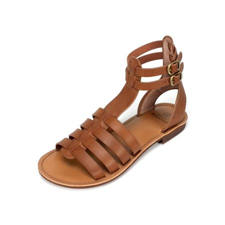 97c8fc3d3ec1 White Mountain - White Mountain Womens carson Leather Open Toe Casual  Gladiator Sandals - Walmart.com