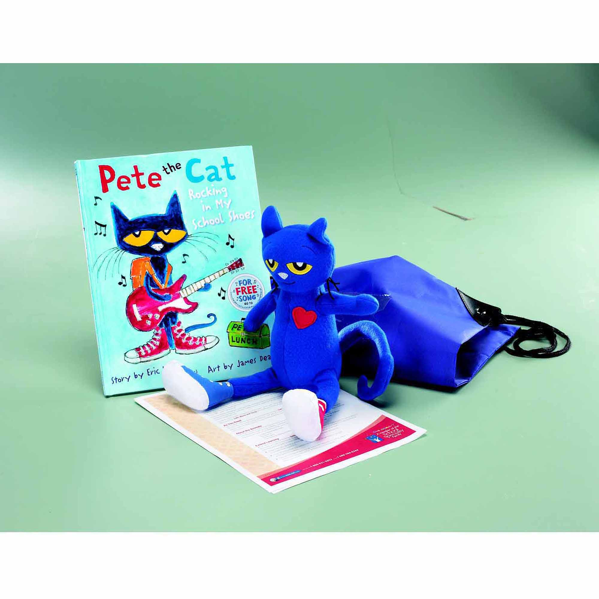 Childcraft Pete the Cat Rocking in My School Shoes, by Eric Litwin Literacy Bag - Walmart.com
