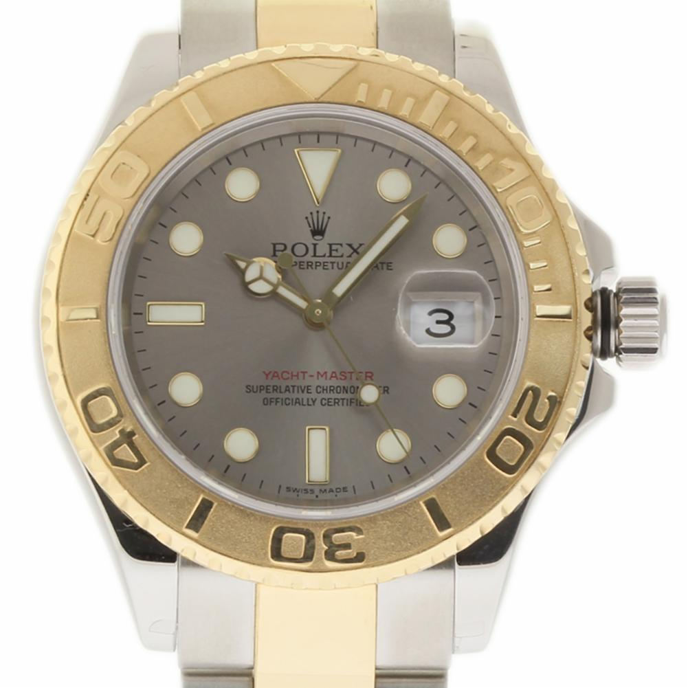 Pre-Owned Rolex Yacht-master 16623 Steel  Watch (Certified Authentic & Warranty)