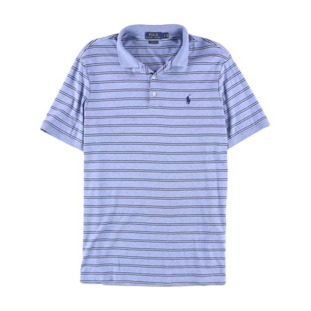 9a1df0d3 Ralph Lauren Mens Striped Rugby Polo Shirt blhtrmu L - image 1 of 1 ...